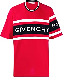 GIVENCHY Luxury Fashion Mens BM70KU3002606 Red T-Shirt | Season Permanent