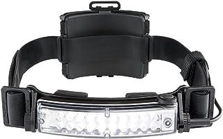 FoxFury 420-T09R Command+ Tilt Fire and Impact Resistant Waterproof White LED Rechargeable Headlamp/Helmet Light, 100 Lumens