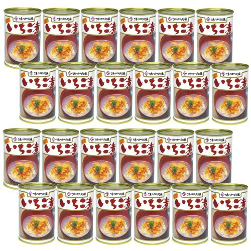 ウニとアワビの潮汁 いちご煮415g×24缶