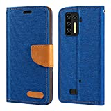 Ulefone Power Armor 13 Case, Oxford Leather Wallet Case