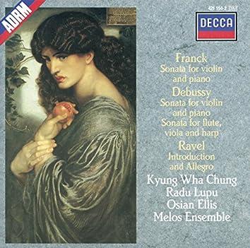 Debussy / Franck / Ravel: Sonata for Flute, Viola & Harp / Sonata for Violin & Piano etc.
