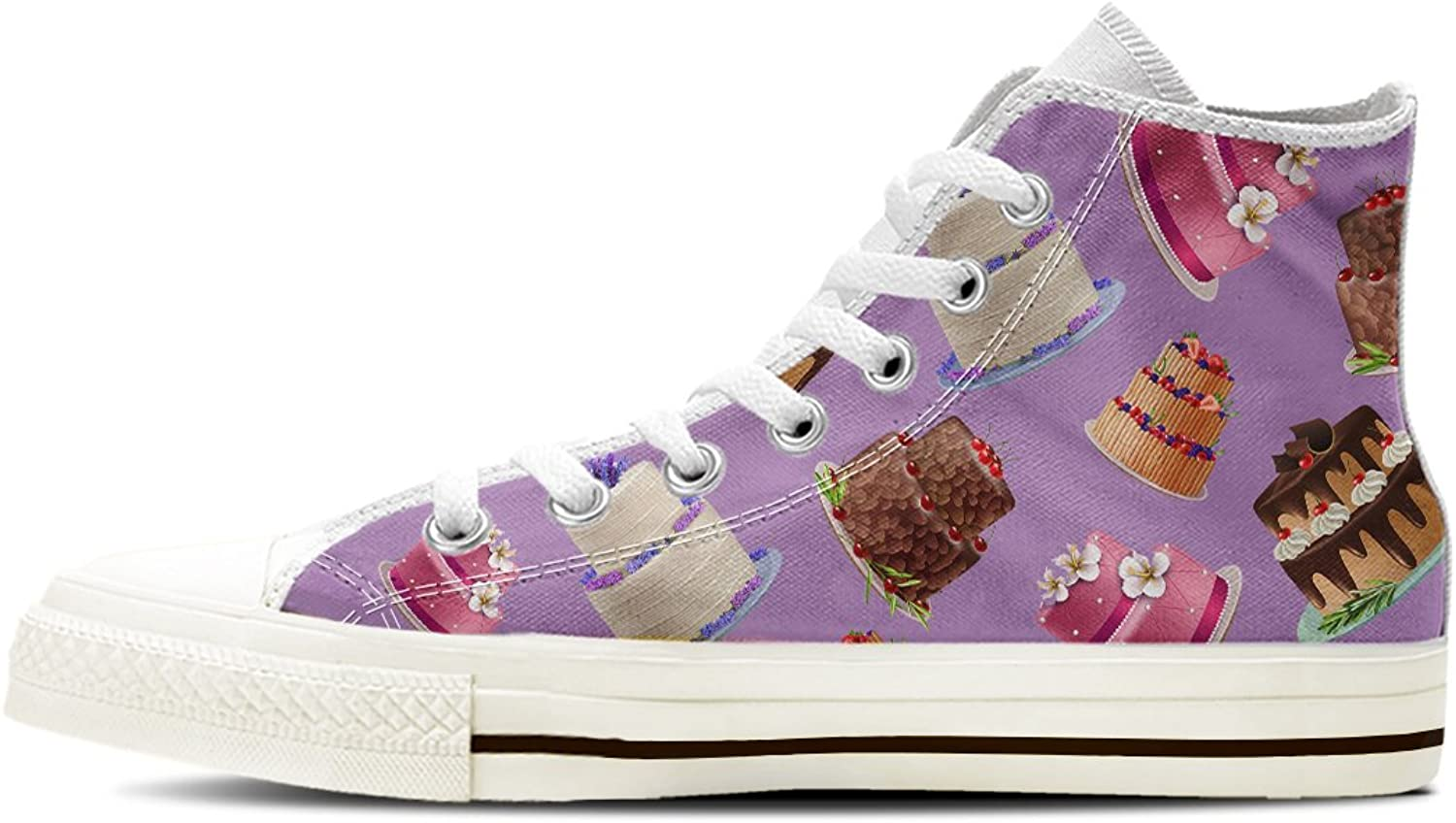 Gnarly Tees Women's Cake Decorator shoes High Top