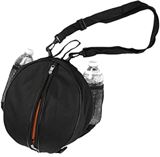"FoRapid Size 7 (29.5"") Basketball Bag Soccer Ball Football Volleyball Softball Sports Ball Bag Holder Carrier+Adjustable S..."
