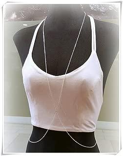 Body Chain,X Shape Body Chain,Beach Body Jewelry,body chain jewelry