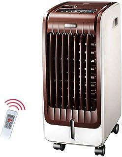 XIAOLIN 寒さと暖かい空調ファン家庭用冷たい風呂冷凍庫暖房携帯電話小型エアコン空調リモートエアコンファン温風機広角風送風75W