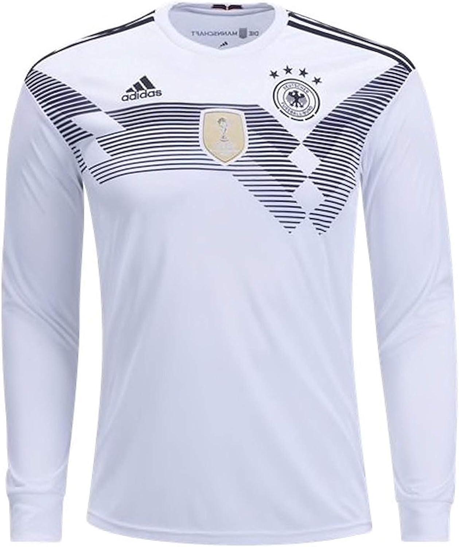Amazon.com : Adidas Men's Soccer Germany Home Jersey : Sports ...