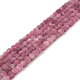 Genuine Pink Tourmaline 6x10mm Rondelle Natural Loose Beads 15 inch Jewelry Supply Bracelet Necklace Material Support Wholesale