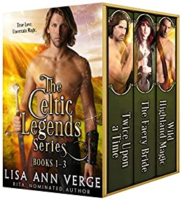 The Celtic Legends Series: Boxed Set by [Lisa Ann Verge]