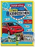 Sticker-Atlas Autokennzeichen: Über 250 Sticker