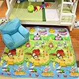 Zofey Play Baby Waterproof Double Side Big Soft Crawl Floor Mat for Kids