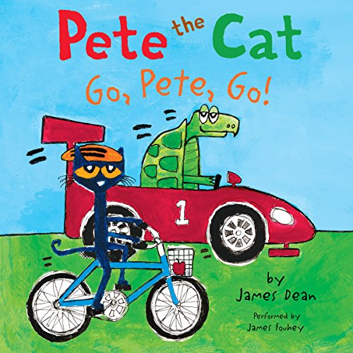 Couverture de Pete the Cat: Go, Pete, Go!