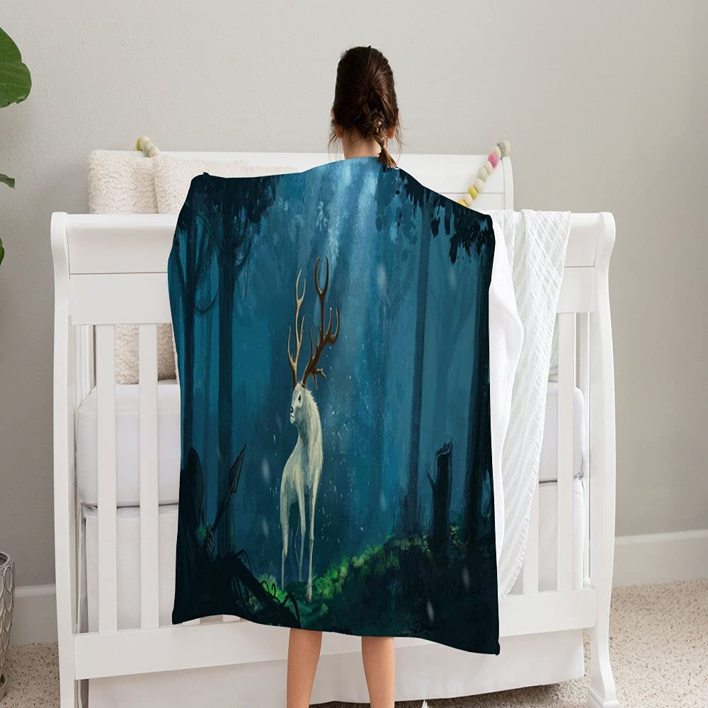 GANTEE Fantasy Elk Creature Magical Forest Soft Super New product! New type Max 41% OFF and Cozy F