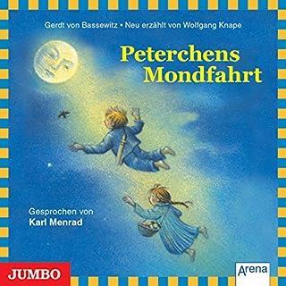 Peterchens Mondfahrt     Moderne Klassiker als HörAbenteuer              Autor:                                                                                                                                 Gerdt von Bassewitz                               Sprecher:                                                                                                                                 Karl Menrad                      Spieldauer: 1 Std. und 8 Min.     5 Bewertungen     Gesamt 4,8
