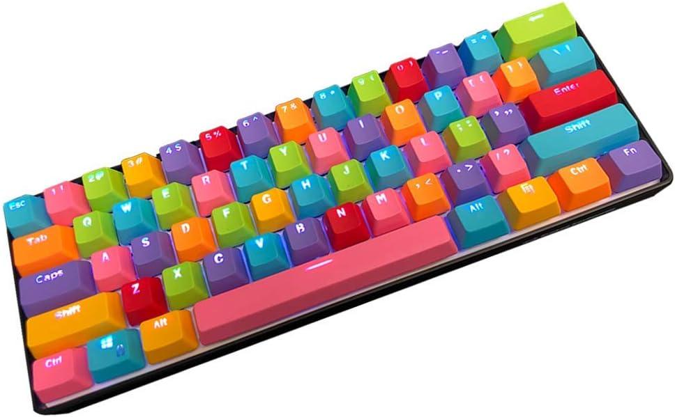 Kraken Pro 60 - Rainbow Edition 60% Mechanical Keyboard RGB Wired Gaming Keyboard