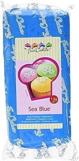 Funcakes Fondant Azul Mar 1 kg