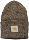 6. Knit Cuffed Beanie-Dark Brown/Sandstone-OFA