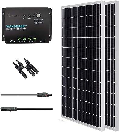 Amazon com: 400 Watt - Solar Panels / Solar & Wind Power