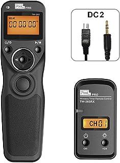 PIXEL Mando a Distancia Disparador inalámbrico TW-283/DC2 Temporizador inalámbrico Cable Disparador para Nikon cámaras Dig...