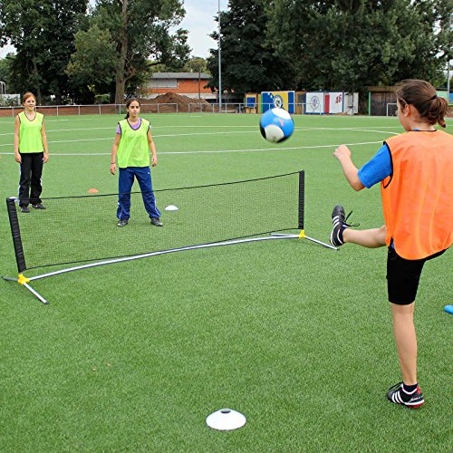 Fußballtennis-Set für Kunstrasen, Hartplatz und Halle, für Fußballtraining