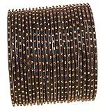 Touchstone 2 dozzine di bracciali Speciali Blu con Brillantini strutturati in Metallo per Donna 2.75 Set di 2 Brillamento Blu