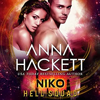 Niko: Scifi Alien Invasion Romance     Hell Squad, Book 9              Written by:                                                                                                                                 Anna Hackett                               Narrated by:                                                                                                                                 Jeffrey Kafer,                                                                                        Samantha Cook                      Length: 4 hrs and 15 mins     Not rated yet     Overall 0.0