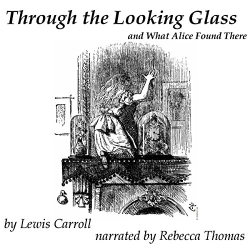 Through the Looking Glass audiobook cover art