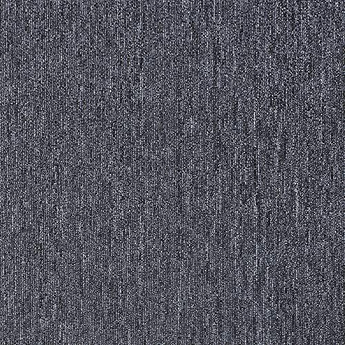 タイルカーペット ジョイントマット ズレない パネルマット フロアマット カーペットタイル 防音 洗える 滑り止め 吸着加工 フロアマット (50*50cm-ダークグレー)