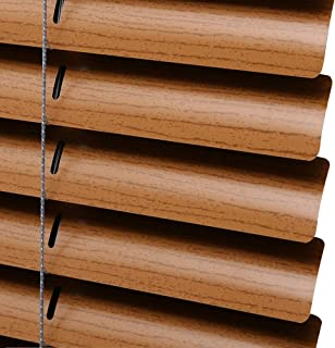 PASSENGER PIGEON Horizontal Window Blinds, Premium Blackout Light Filter Aluminum Blinds Custom-Made Water Rust Proof Fire Resistant Mini Blinds, 1 Inch Slats, 20