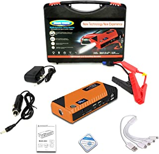 Car Jump Starter 20000Mah 1000A 12V Portable Emergency Starter Power Bank Car Booster Starting Device Waterproof, with Sma...