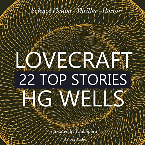 『22 Top Stories of H. P. Lovecraft & H. G. Wells』のカバーアート