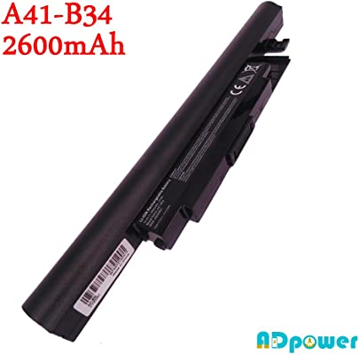 Akku 14 4V 2600mAh A41-B34 Medion Laptop Akoya S4209 S4211 S4213 S4214 S4215 S4216 S4611 S4613 E6239 E6239T 6240T E6237 E6241 P6643 P6647 P6648 E6239 E6239T 6240T MD99290 MD98899 MD98148 MD98474 MD98562 MD98477 MD98564 MD98167 MD98089 MD98080 MD98066 MD99