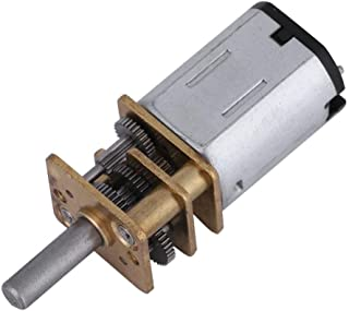 Wal front DC 3V 150 RPM Speed Reduction Gear Motor Metal Gearbox N20 3 MM Shaft Diameter × 10 MM Shaft Length DIY Electric Toys Robots Models