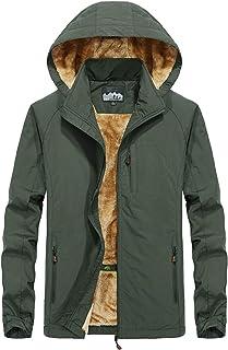 PrettyChic Men's Coat Windbreaker Hoodies Jacket Autumn Winter Fashion
