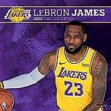 Los Angeles Lakers Lebron James 2022 12x12 Player Wall Calendar