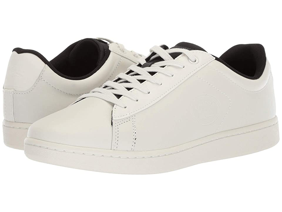 Lacoste Carnaby Evo 418 2 (Off-White/Black) Men
