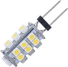 RETYLY 5X G4 26 SMD LED Warm Wit Marine Gloeilamp 12V 1.2W