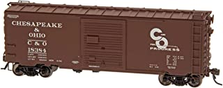 Intermountain HO 45489-04 40' PS-1 Boxcar, Chesapeake & Ohio (Original Paint: Boxcar Red, White, Progress Logo)