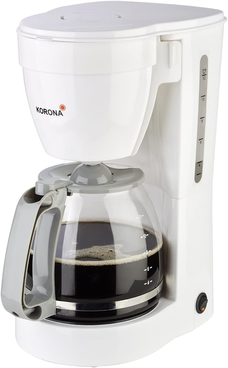 /Cafetera 10115/I 1,5/litros I 12/tazas I 800/W 10115 negro Korona/