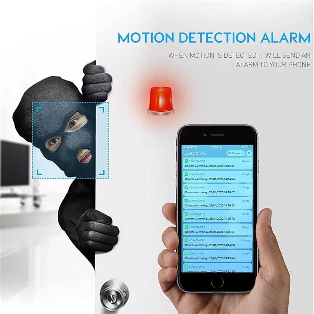 MUMUJJ Mini Spy Camera, Wireless WiFi DIY Security Camera, Remote Monitoring 1080P HD Video Recorder Micro Camcorder Cam Motion Detection DV Camera
