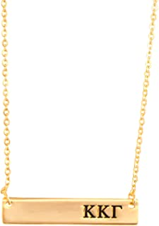 kappa kappa gamma bar necklace