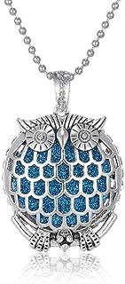 N\C Aromaterapi halsband smycken livets träd brons aromask spridare halsband eterisk olja spridare parfym medaljong hänge