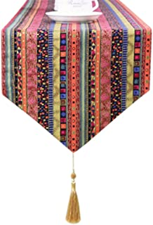 Kylin Express 1271 Inch, Southeast Asia Table Runner Home Decor Bed Runner Table Cloths