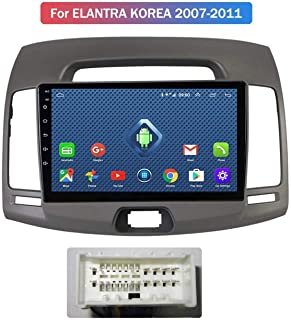para KIA Carens 2007-2011 Bluetooth Enlace Espejo Control Volante,4G+WiFi:1+16G-Auto GLFDYC Android 8.1 GPS Navigation Car Stereo Radio 9 Pulgadas Pantalla T/áctil Completa Reproductor Multimedia