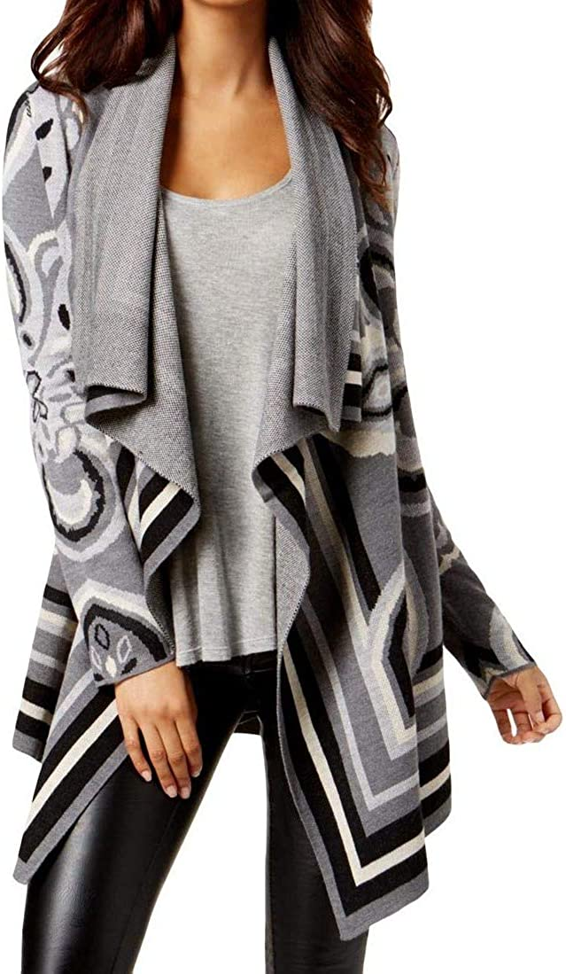 bar III Popular shop is the Baltimore Mall lowest price challenge Womens Jacquard Cardigan Sweater