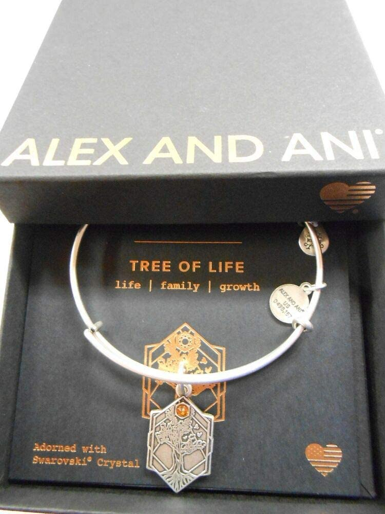NWTBC Tree of Life IV Rafaelian Wire latest Max 75% OFF Expandable Bracelet Silver