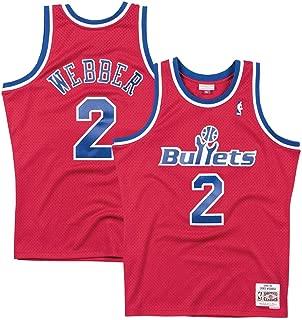 chris webber washington bullets jersey