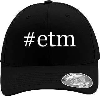 #ETM - Men's Hashtag Flexfit Baseball Cap Hat