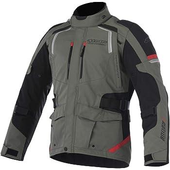 Alpinestars Andes V2 Drystar Men's Street Motorcycle Jackets - Green/Black/Red/Medium