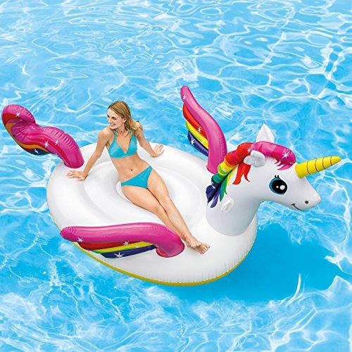 Intex Inflatable Mega Unicorn Island Float