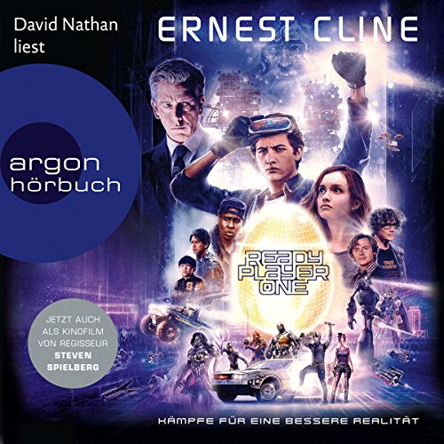 Ready Player One [German Edition]                   De :                                                                                                                                 Ernest Cline                               Lu par :                                                                                                                                 David Nathan                      Durée : 14 h et 49 min     1 notation     Global 5,0